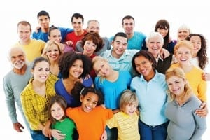 Portrait of a large group of a Mixed Age people smiling and embracing together. [url=http://www.istockphoto.com/search/lightbox/9786738][img]http://dl.dropbox.com/u/40117171/group.jpg[/img][/url]
